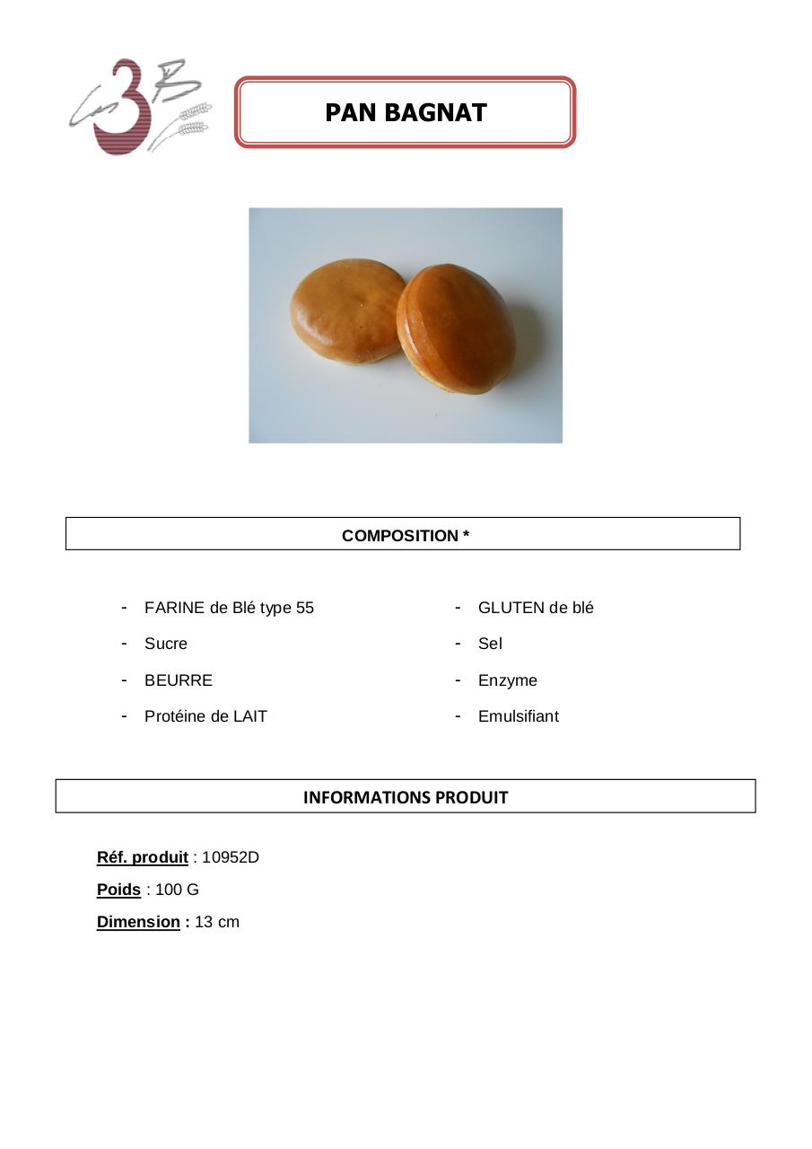 Aperçu du document PAIN BAGNAT 100G.pdf - page 1/1