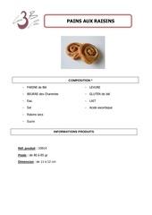 Fichier PDF pain raisins
