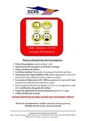 Fichier PDF adhesion club jeunes