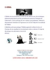affiche aikido