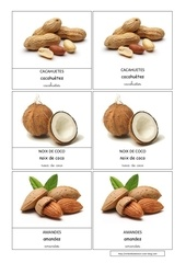 cacahuete coco amande