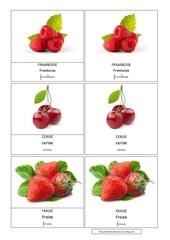 Fichier PDF fraise framboise cerise