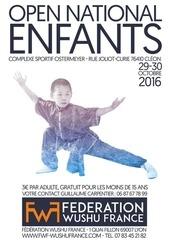 dossier open national enfant 2016
