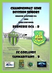 championnat 5eme division seniors exterieur 1