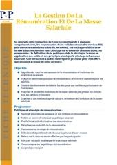 Fichier PDF gestion de la remuneration
