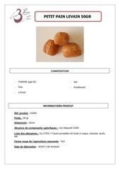Fichier PDF petit pain au levain 50gr