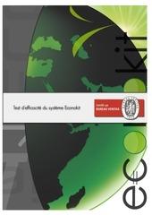 test efficacite bureau veritas econokit ubiquity 2012