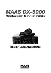 deutsche bedienungsanleitung maas dx 5000