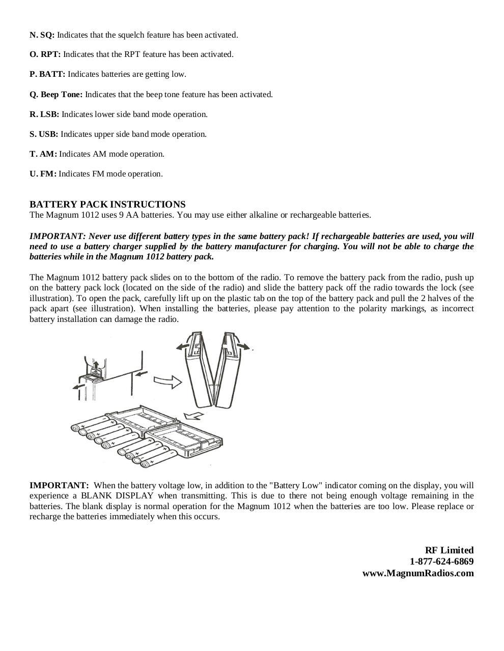DESCRIPTION par OLMIR - magnum 1012 om pdf - Fichier PDF
