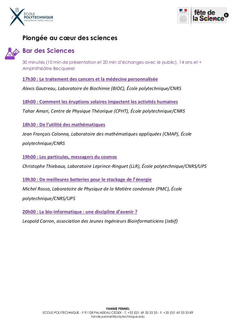Programme FDS Animations EP Par Pennel Fannie Mme