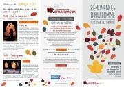 programme remanences d automne 2016