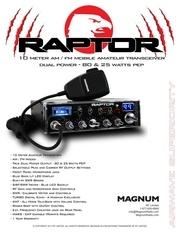 raptor brochure