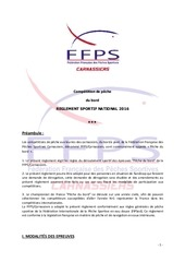reglement sportif pEche du bord ffps carnassiers 2016 4