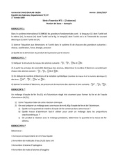 serie chimie 1 2017