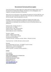 Fichier PDF recrutement formateur trice anglais