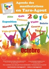 agenda tarn agout octobre 2016