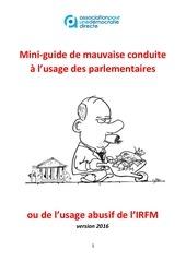 irfm mini guide de mauvaise conduite