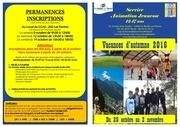 programme jeunesse automne 2016 livret
