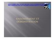 Fichier PDF raisonnement demo 1