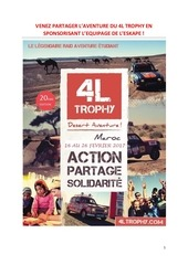 Fichier PDF book 4l trophy
