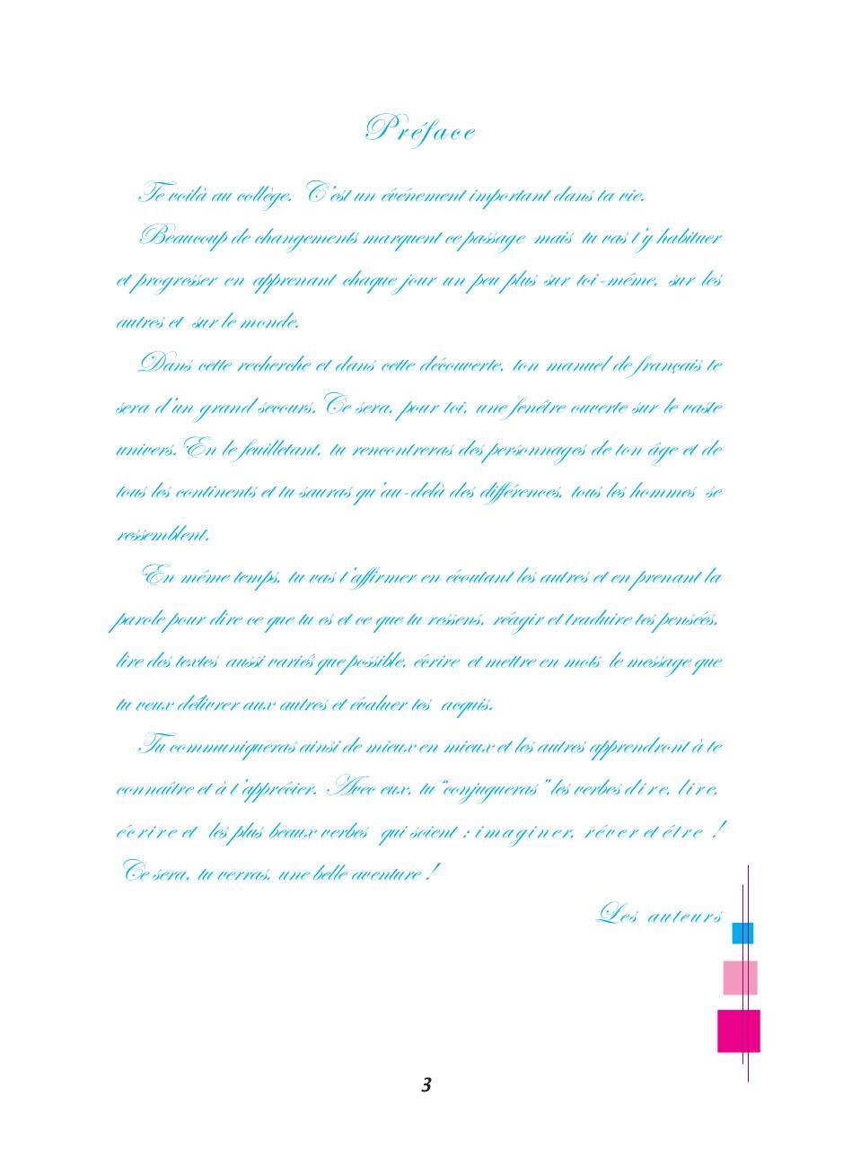 Module De Controle Livre 7eme Francais Pdf Fichier Pdf