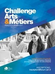 plaquette challenge arts metiers 2016 2017