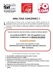 2016 6 octobre tract commun cgt sud fo gre ve