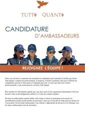 dossier de candidature ambassadeurv