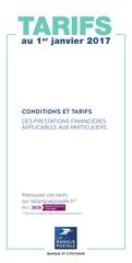 lbp2017 tarifs particuliers 2017 accessible