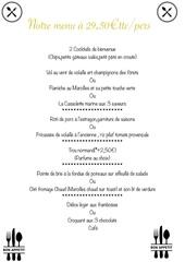 menu 29 50