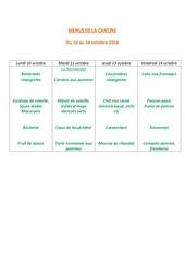 Fichier PDF menus de la cantine 10 oct