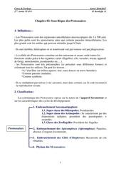 chapitre 02 les protozoaires partie 01