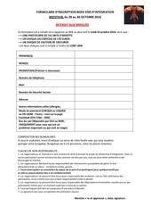formulaire inscription weistival 28 30 octobre 2016