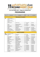 programme nf 2016 fr