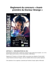 Fichier PDF reglement docteur strange