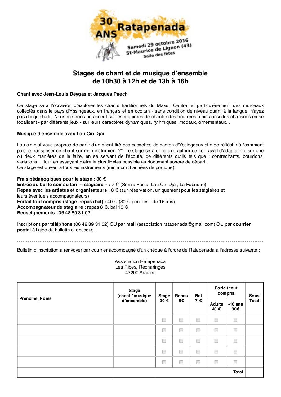 Aperçu du document bulletin stages 30 ans.pdf - page 1/1
