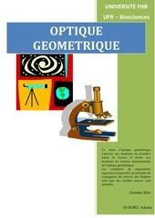 cours optique geo l1 biosciences