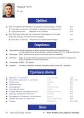 Fichier PDF cv web