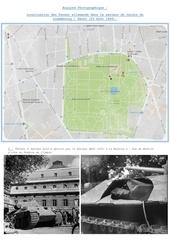 localisation des panzer allemands dans paris 25 aout 1944