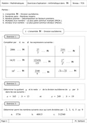 Fichier PDF exeercices d application arithmetique