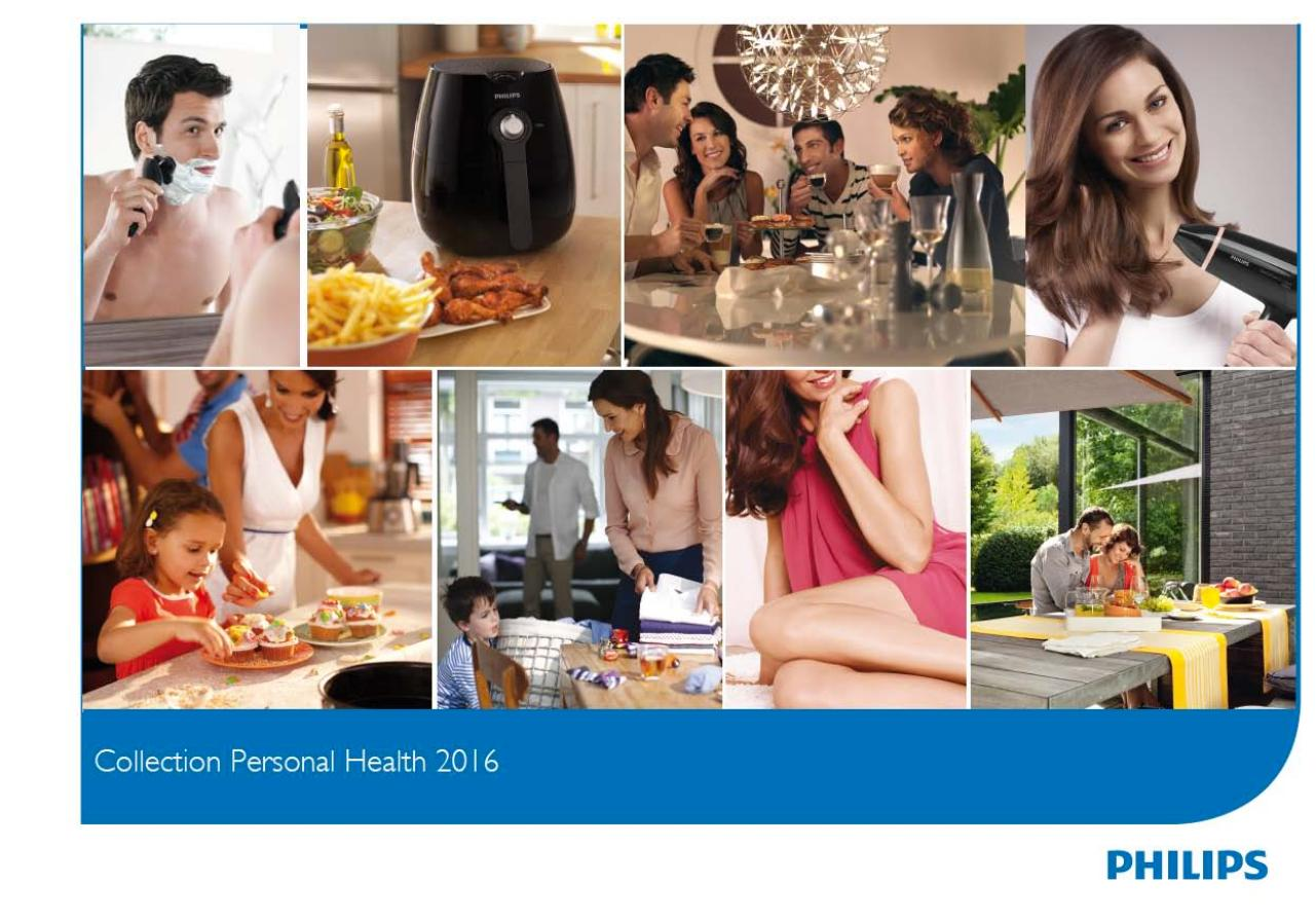 Catalogue Petit éléctroménager - Philips 2016.pdf - page 1/27
