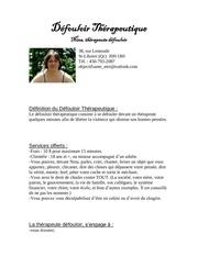 Fichier PDF defouloir therapeutique pour pdf