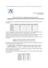 statistique efm tce