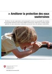 ameliorer la protection des eaux souterraines