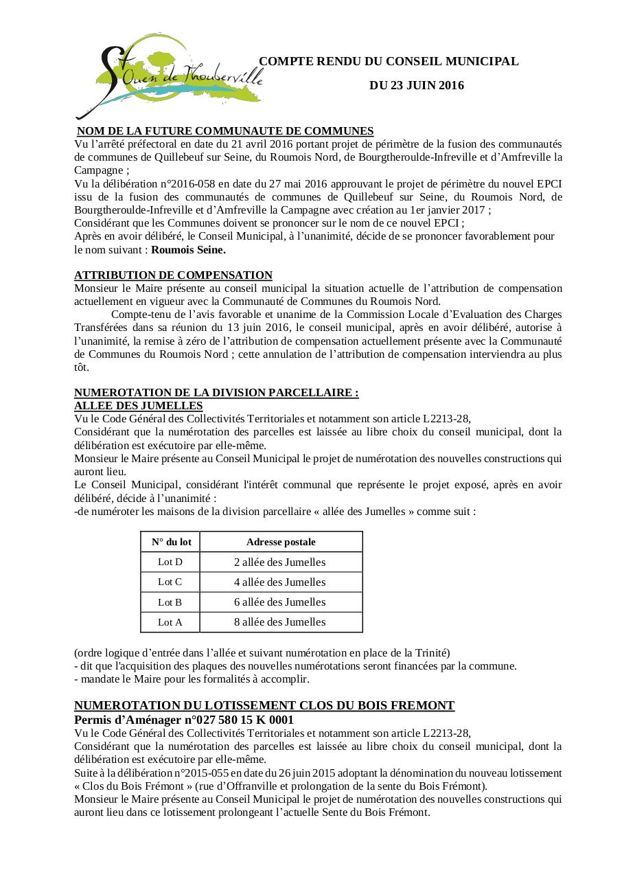 Aperçu du document CR du 23 juin 2016.pdf - page 1/5