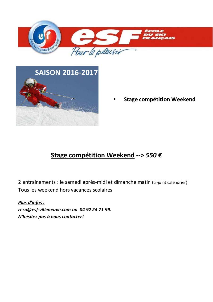 saison 2016.2017 calendrier week end competition.pdf - page 1/2