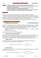 ts p3 s2 transformation en chimie organique prof