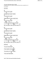 0e1981261 chord chart you are god alone not a god