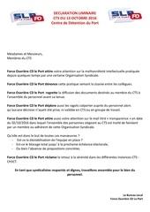 declaration liminaire cts du 131016
