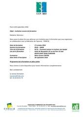 invitation ucp bio copie